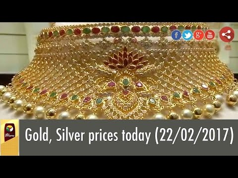 Gold, Silver prices today (22/02/2017)