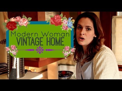 Modern Woman Vintage Home : Organic Cleaning Tips