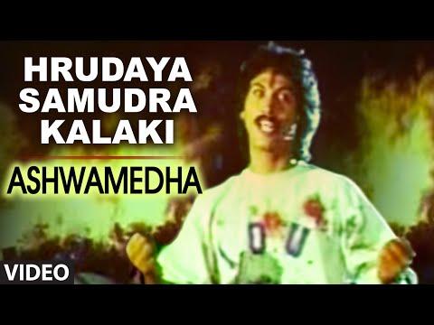 Hrudaya Samudra Kalaki Video Song I Ashwamedha I Kumar Bangarappa, Srividya