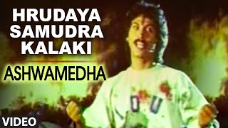 Video Hrudaya Samudra Kalaki Video Song I Ashwamedha I Kumar Bangarappa, Srividya download MP3, 3GP, MP4, WEBM, AVI, FLV Juni 2018