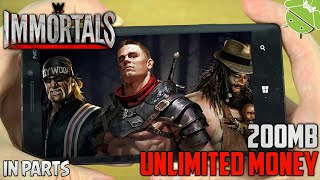 [200MB] WWE Immortals Mod Apk+Data | Highly Compressed | Gameplay Proof | For Android