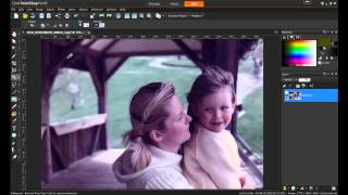 Restoring Low Resolution Images in PaintShop Pro X5