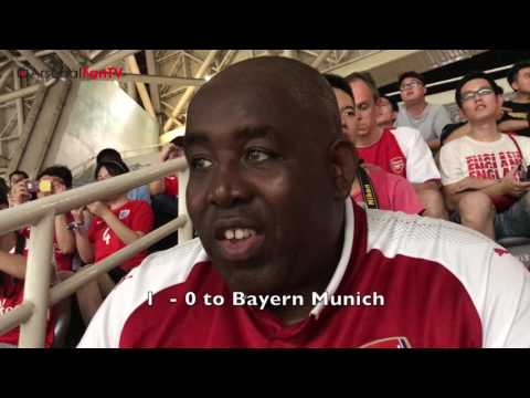 WTF!, Arsenal Beat The Germans On Penalty's | AFTV In China Vlog