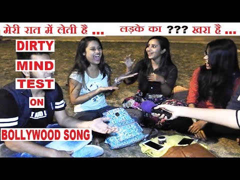 GIRLS Having DIRTY MIND On Double Meaning Bollywood Songs,Hilarious Reaction !FunkyTV!