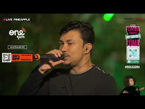 Poesia Acústica Uruguay (Ao Vivo) - Xamã, Knust, Chris MC, Cesar MC | Live Pineapple