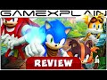 Sonic Boom Shattered Crystal Video Review 3DS mp3