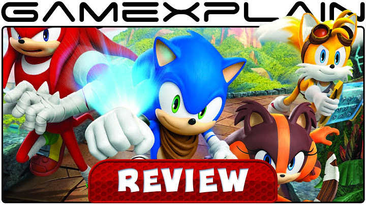 sonic boom shattered crystal  video review 3ds