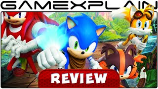 Sonic Boom: Shattered Crystal - Video Review (3DS)
