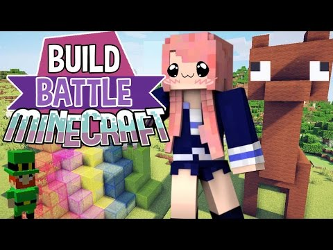 Lucky Llamas | Build Battle | Minecraft Building Minigame