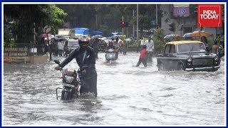 Heavy Rains Lash Mumbai, Schools Shut, Trains Delayed, High Tide Expected