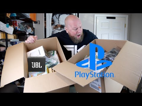 I bought a $2,011 Amazon Customer Returns Electronics Pallet + SONY PLAYSTATION Gaming Console & JBL
