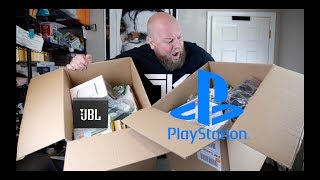 Baixar Bought a $2,011 Amazon Customer Returns Electronics Pallet + SONY PLAYSTATION Console & High End JBL