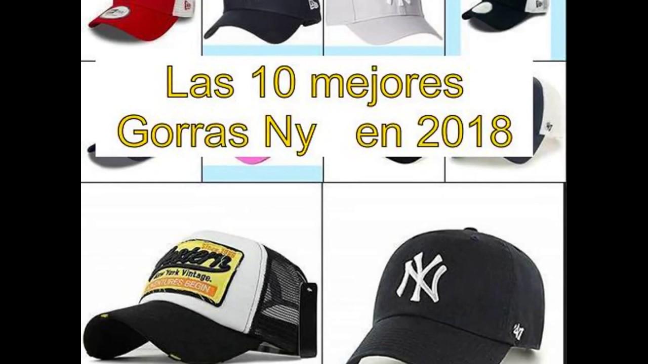 fb0ee45417361 Las 10 mejores Gorras Ny en 2018 - YouTube