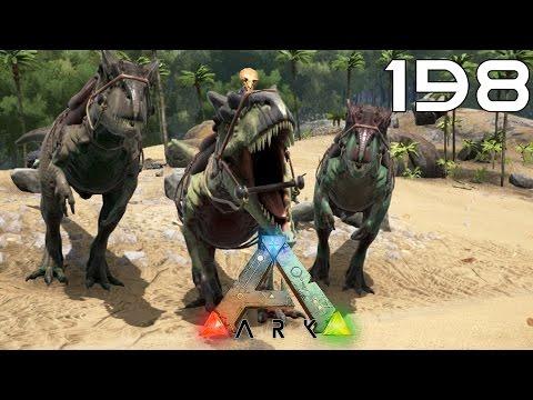 ARK Survival Evolved [#198] Nowy potworek! Allosaurus!