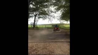 Apache 320 drifting sliding mad fun