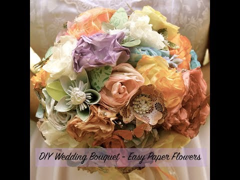 DIY Wedding Flowers | Paper Flowers | Cricut Flowers