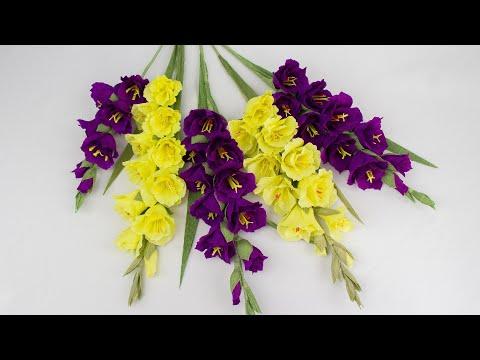 Букет цветов своими руками из бумаги гофрированной бумаги