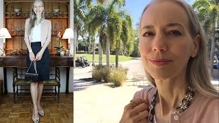 Classic Fashion: Vlog--Wine, Women & Shoes 2017, Naples, FL, What We Wore