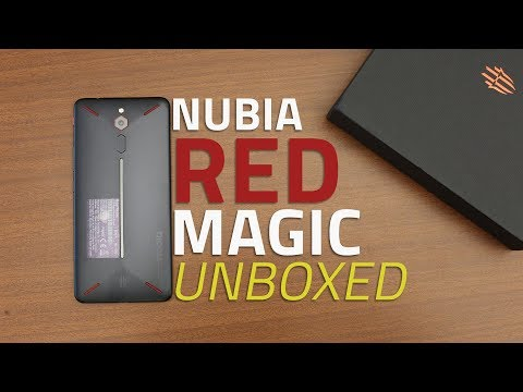 Nubia Red Magic Unboxing | First Look at Nubia's High-End Gaming Phone