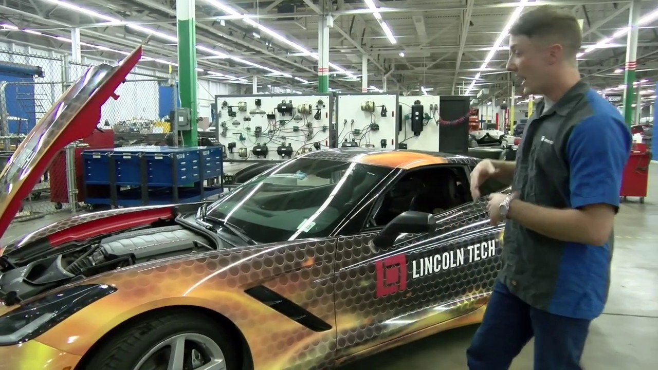 Lincoln Tech Graduate Talks About The 2014 Lt Corvette Youtube