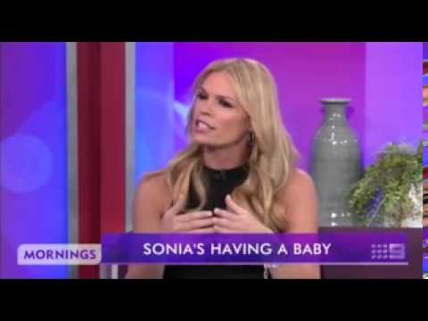 The long hard road: Sonia Kruger's struggle to conceive her first child which has ended in delight