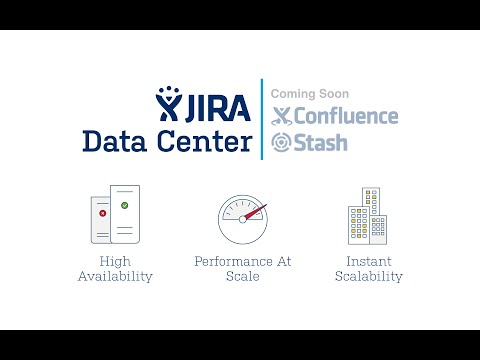 JIRA Data Center Webinar : High availability and performance at scale for your enterprise