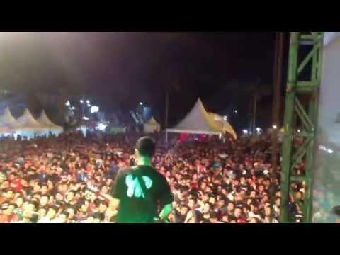 Pee Wee Gaskins - Dari Mata Sang Garuda (Live at Karanganyar 30-11-2014) @PWGofficial