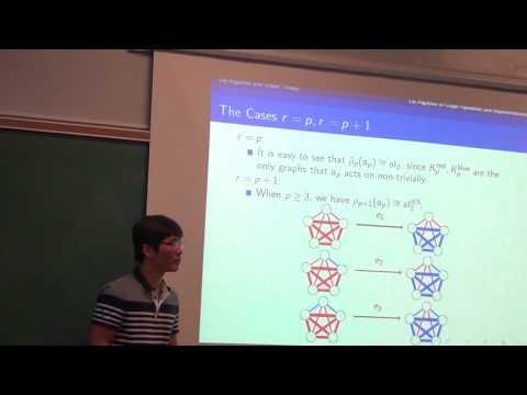 Lie Algebra Representations Arising from Ramsey Theory