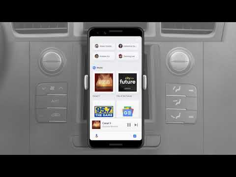 Google Assistant - Driving mode