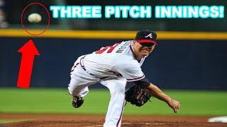MLB   THREE PITCH INNINGS! (RARE)   1080p HD