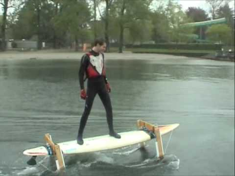 How Are Batteries Made >> Easter Project 2009 - Hydrofoil - - YouTube