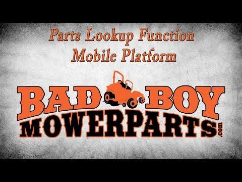 Bad Boy Mower Parts - How To Videos | Bad Boy Lawn Mower