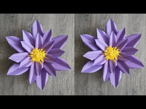 Easy Paper Flower Backdrop Tutorial | Giant Paper Flower