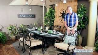 Dreamcoast Madison Oval Dining Set Patio Furniture Overview