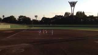 Japan Women's Baseball League: Retiring Minori Okuda's speech 10/13/2013