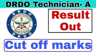 DRDO Technician-A Result Out.DRDO Recruitment-2019.