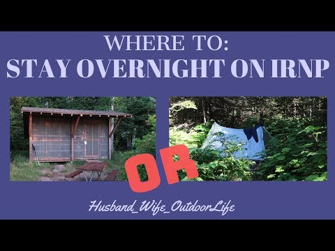 Where to: Stay Overnight on Isle Royale