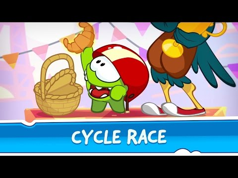 Om Nom Stores: Around the world - Cycle Race