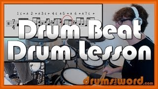 ★ Spoonman (Soundgarden) ★ Drum Lesson | How To Play Drum BEATS (Matt Cameron)