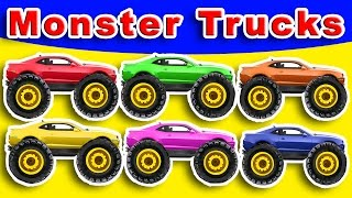 Learning Colors with Monster Trucks
