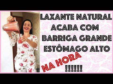 LAXANTE NATURAL que ACABA com BARRIGA GRANDE e ESTÔMAGO ALTO na HORA!!!