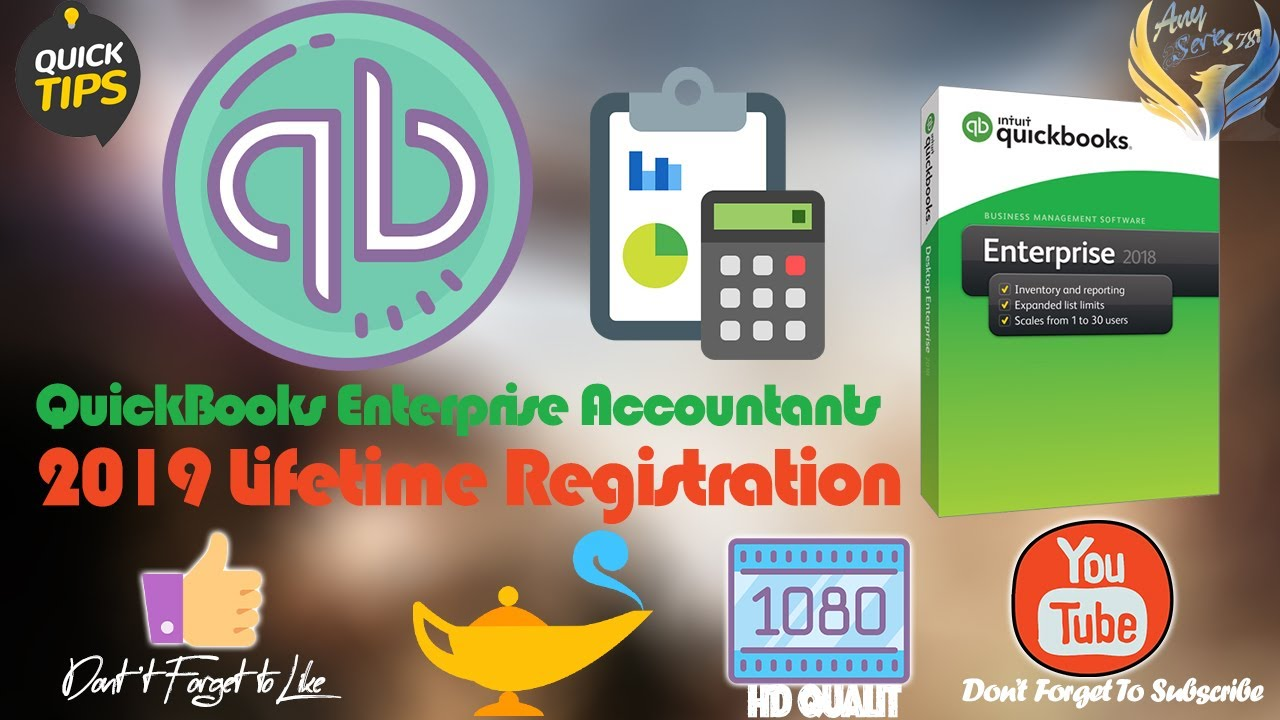 quickbooks enterprise 2018 product number