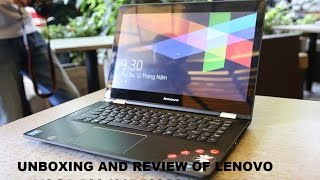 Unboxing and review of Lenovo Yoga 500 80R500C2IN in Hindi