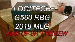 Kind of Sh*t Logitech G560 Unboxing and Review