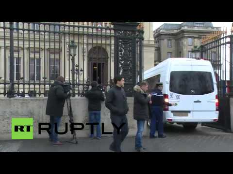 France: FM Lavrov arrives in Paris for fresh Ukraine peace talks