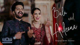 Actor Balu Varghese & Aileena Engagement Teaser - Magic Motion Media