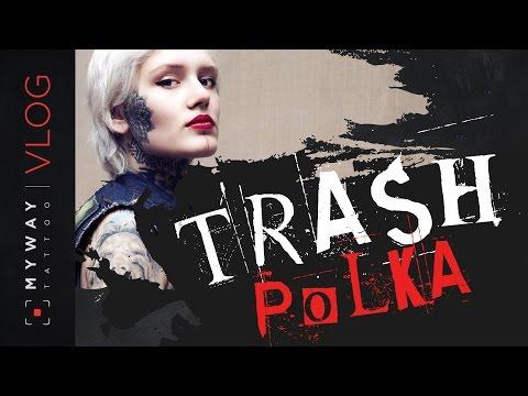 Трэш полька / Trash polka || Стиль тату - Познавательные и прикольные видеоролики