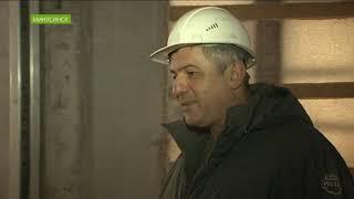 В Минусинске завершается обновление фасада Дома Вильнера