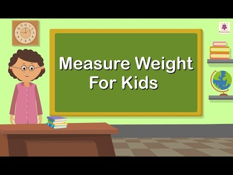 Measure Weight For Kids | Grade 1 Maths For Kids | Periwinkle