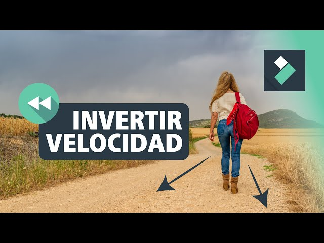 INVERTIR VELOCIDAD ⏪ o poner VIDEO MARCHA ATRAS en FILMORA   Curso Filmora